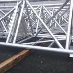 Maszt aluminiowy - 45m