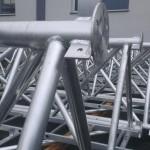 Aluminium lattice mast - 45m